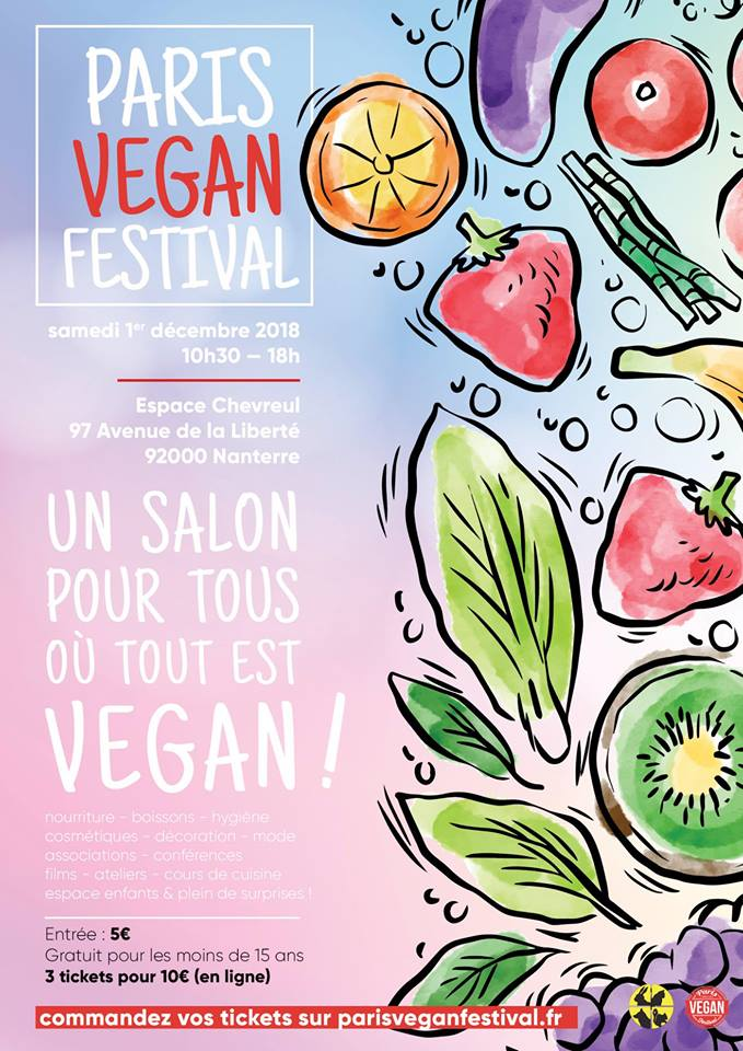 Doucho sera au Paris Vegan Festival le 1er décembre 2018