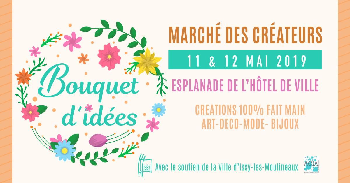 Marché des Créateurs à Issy les Moulineaux