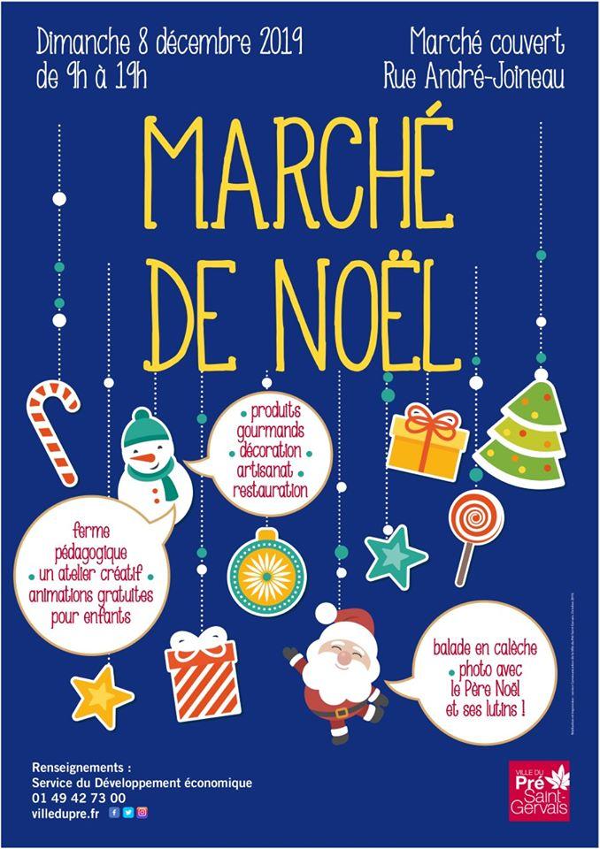 Marché de Noël du Pré Saint Gervais