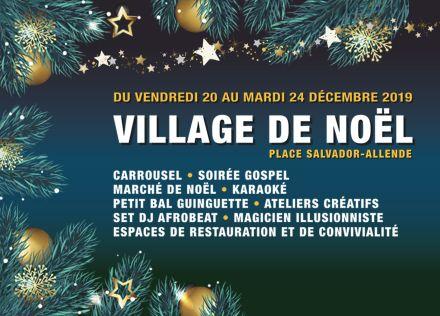 Marché de Noël de Bagnolet le samedi 21 décembre 2019 de 14h à 20h