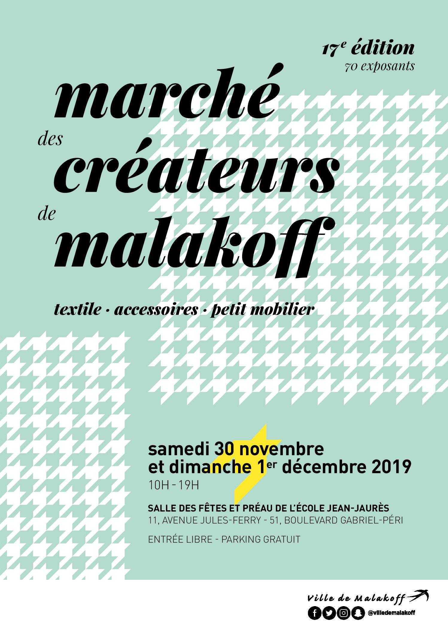 Doucho participe au marché de Créateurs de Malakoff