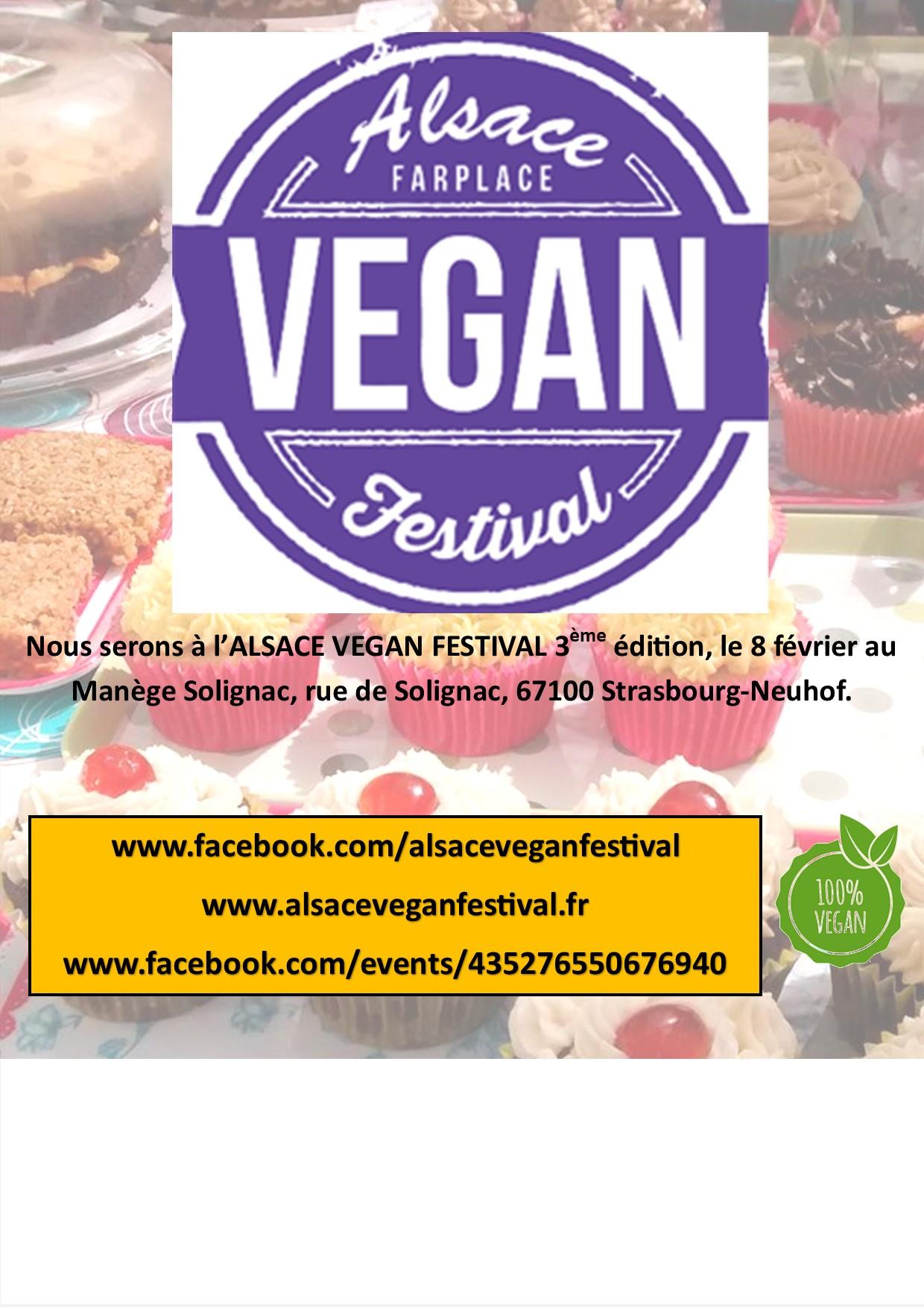 Retrouver DOUCHO au Alsace Vegan Festival le samedi 8 février 2020 de 11h30 à 17h30
