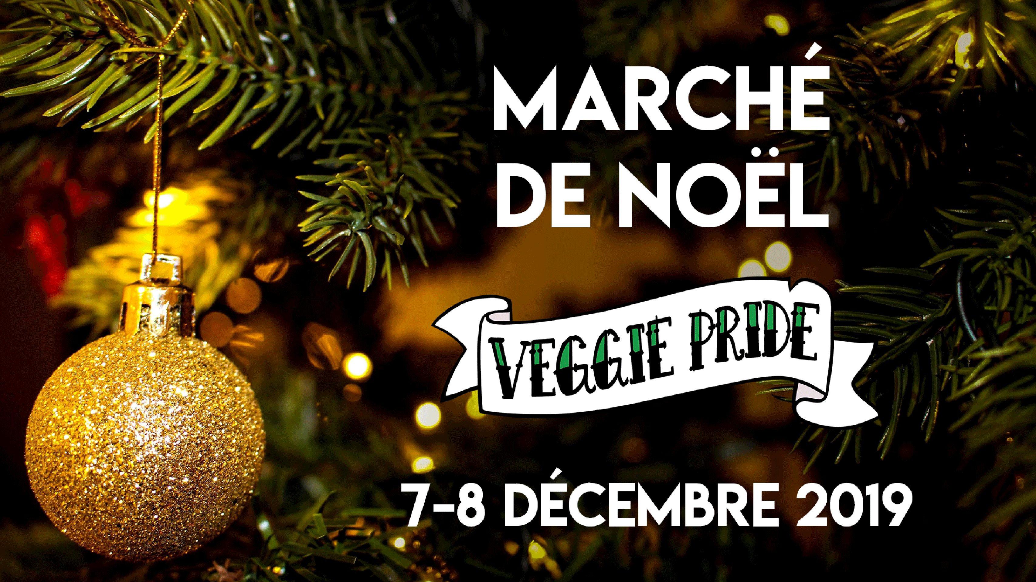 Marché de Noël de la Veggie Pride à Pantin à la Cité Fertile